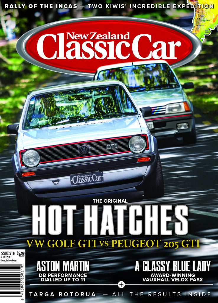 New Zealand Classic Car 316, April 2017