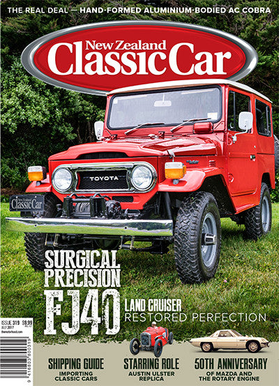 New Zealand Classic Car 319, July 2017