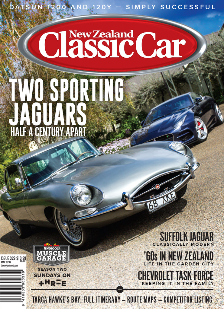 New Zealand Classic Car 329, May 2018