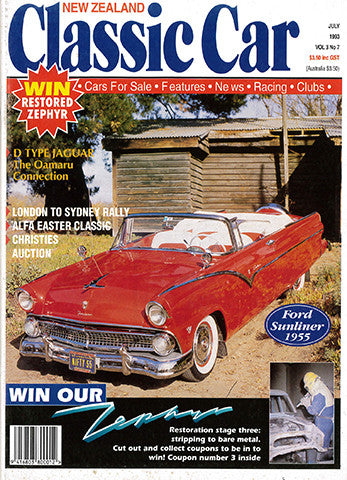 New Zealand Classic Car 31, July 1993