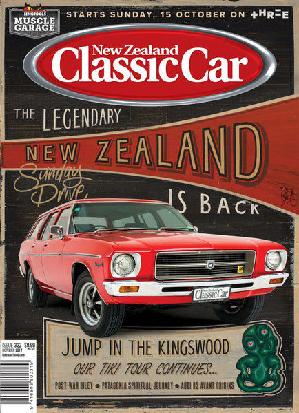New Zealand Classic Car 322, October 2017