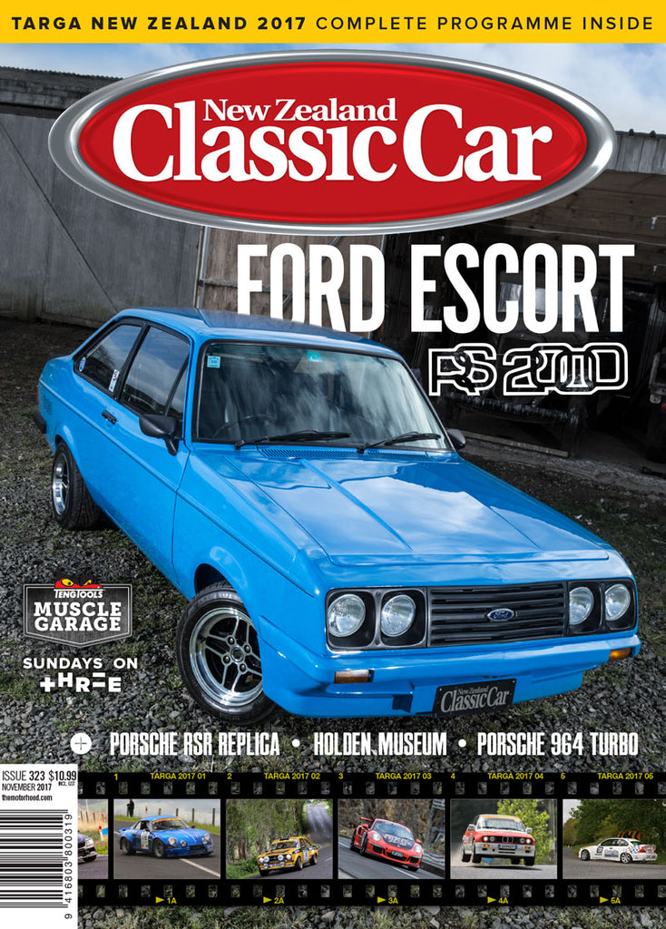 New Zealand Classic Car 323, November 2017