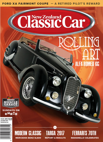 New Zealand Classic Car 324, December 2017