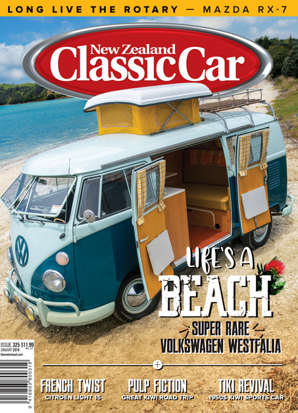 New Zealand Classic Car 325, January 2018