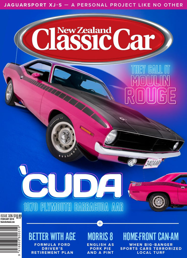 New Zealand Classic Car 326, February 2018