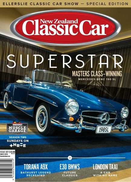 New Zealand Classic Car 327, March 2018