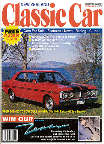 New Zealand Classic Car 32, August 1993