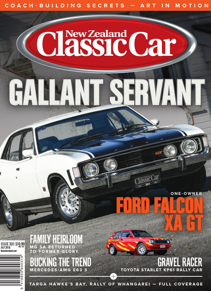 New Zealand Classic Car 331, July 2018