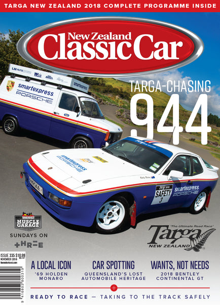 New Zealand Classic Car 335, November 2018