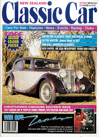 New Zealand Classic Car 33, September 1993
