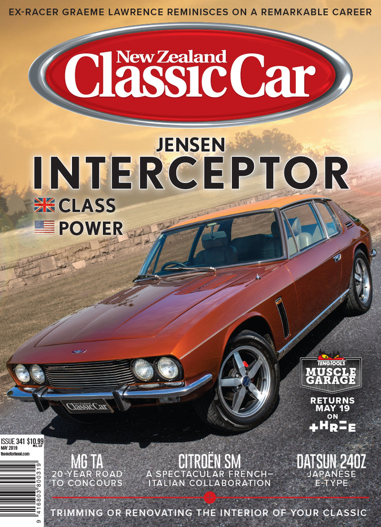 New Zealand Classic Car 341, May 2019