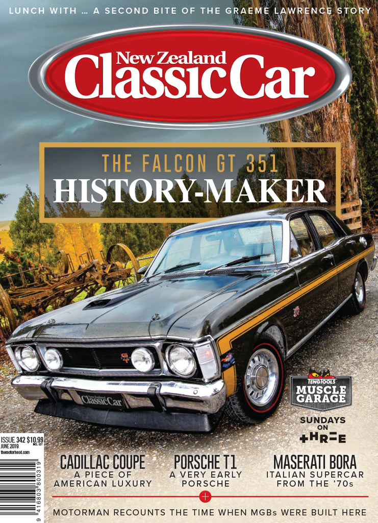 New Zealand Classic Car 342, June 2019