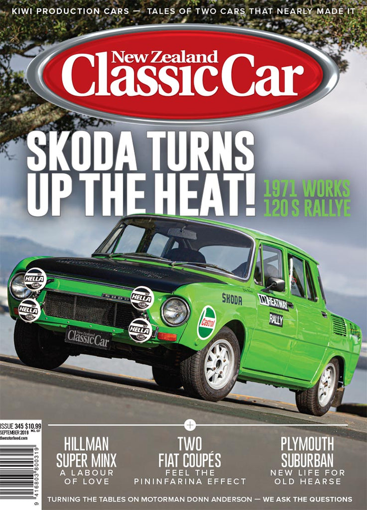 New Zealand Classic Car 345, September 2019