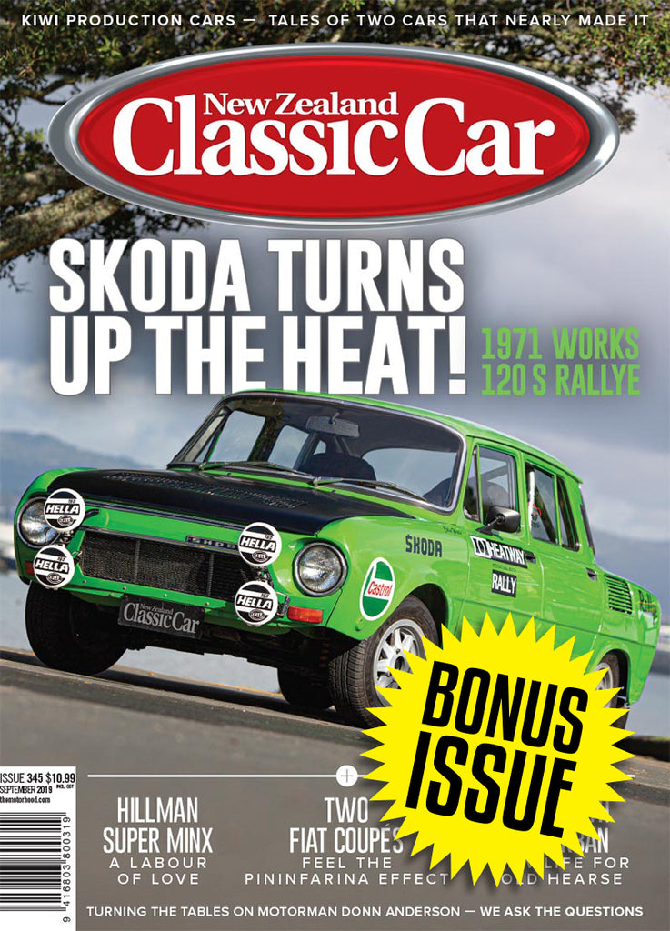 Subscription to New Zealand Classic Car with bonus issue