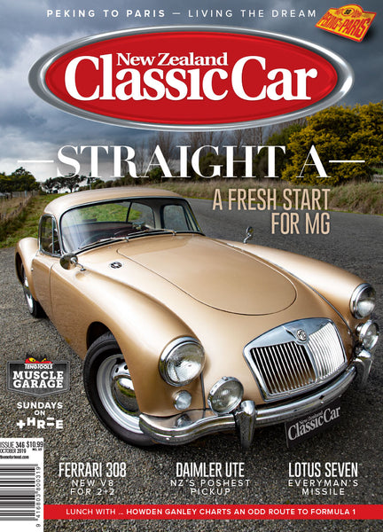 New Zealand Classic Car 346, October 2019