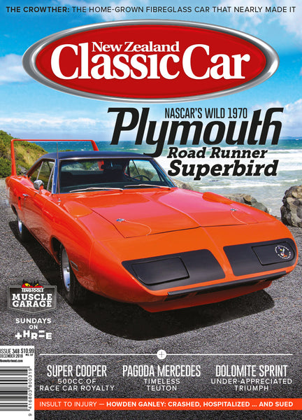New Zealand Classic Car 348, December 2019