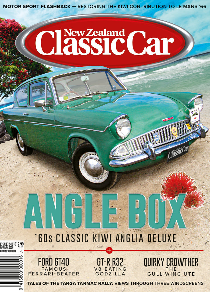 New Zealand Classic Car 349, January 2020