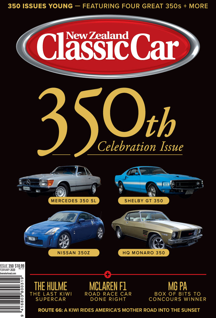 New Zealand Classic Car 350, February 2020