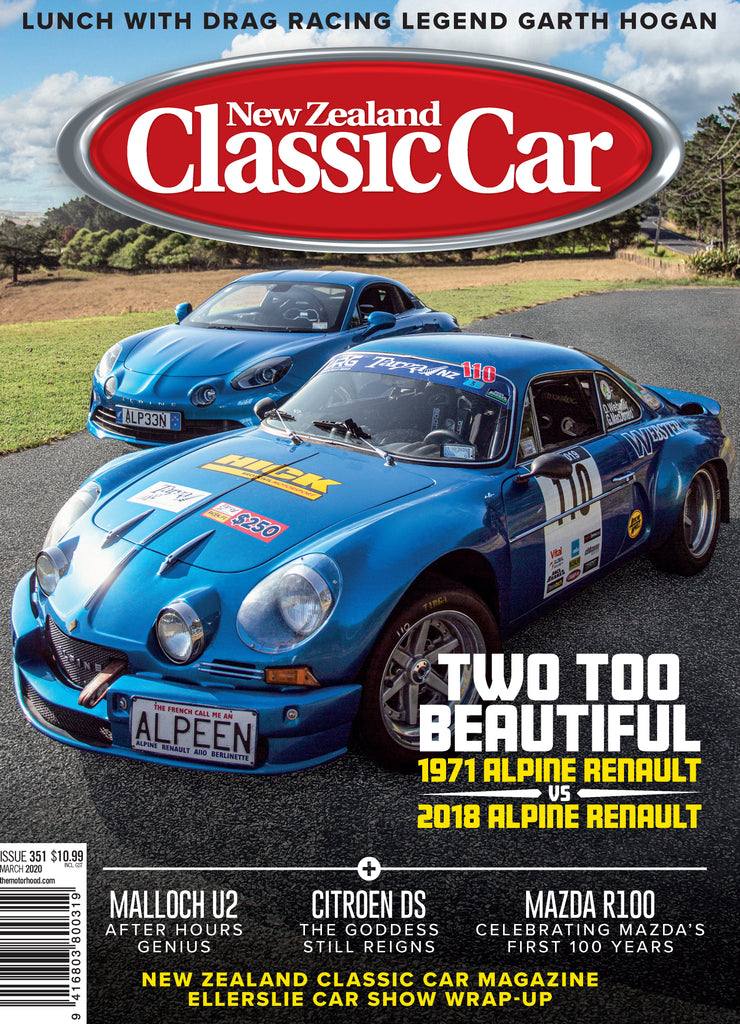 New Zealand Classic Car 351, March 2020