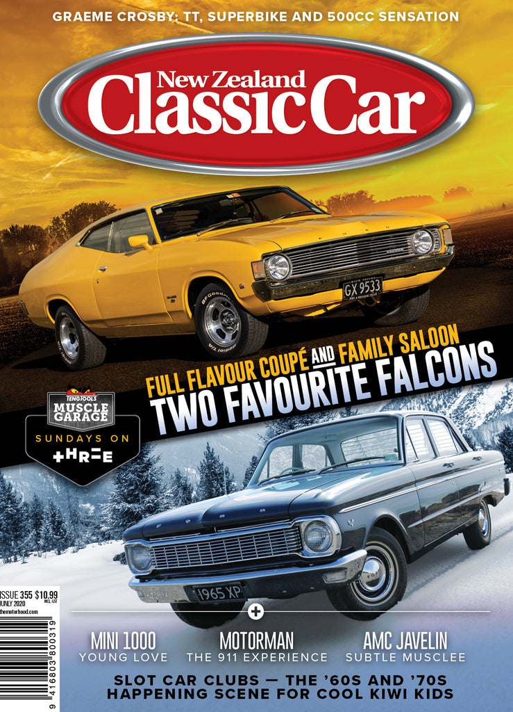 New Zealand Classic Car 355, July 2020