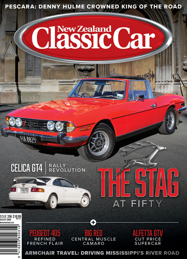 New Zealand Classic Car 356, August 2020
