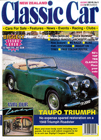 New Zealand Classic Car 35, November 1993