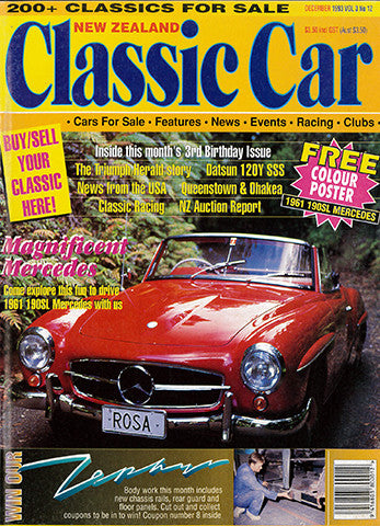New Zealand Classic Car 36, December 1993