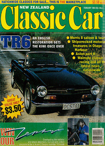 New Zealand Classic Car 38, February 1994
