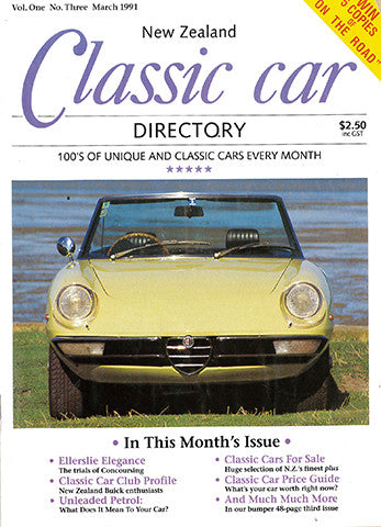 New Zealand Classic Car 3, March 1991