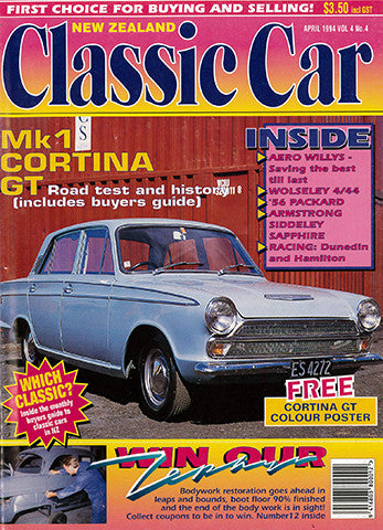 New Zealand Classic Car 40, April 1994