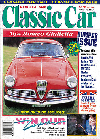 New Zealand Classic Car 43, July 1994