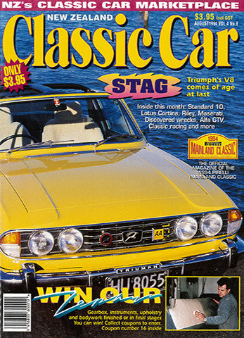 New Zealand Classic Car 44, August 1994