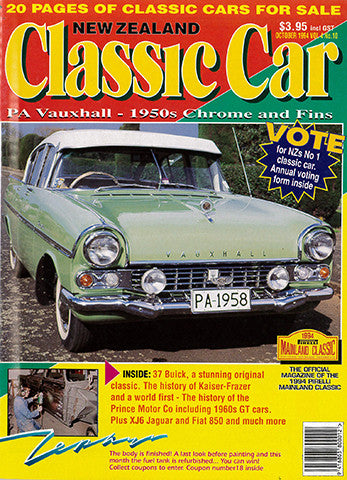 New Zealand Classic Car 46, October 1994
