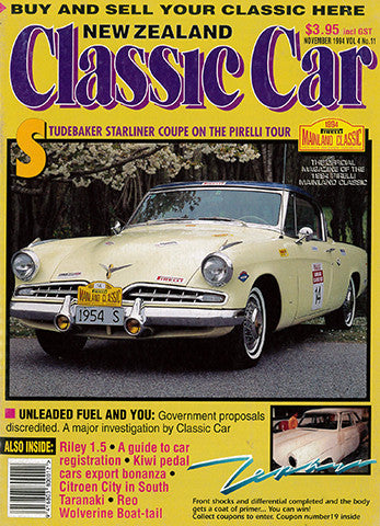 New Zealand Classic Car 47, November 1994