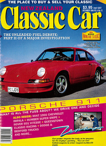 New Zealand Classic Car 48, December 1994