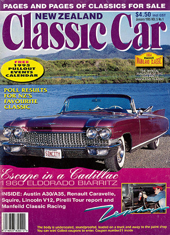 New Zealand Classic Car 49, January 1995