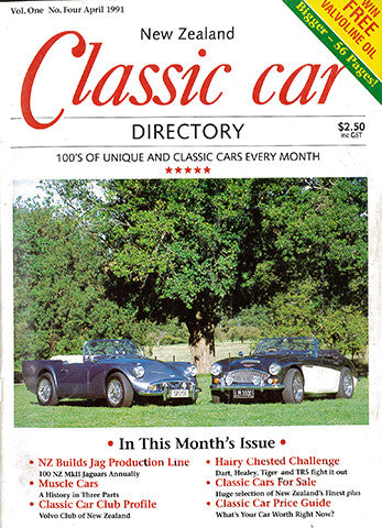 New Zealand Classic Car 4, April 1991