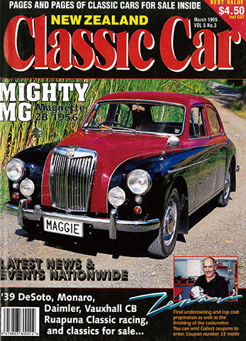 New Zealand Classic Car 51, March 1995