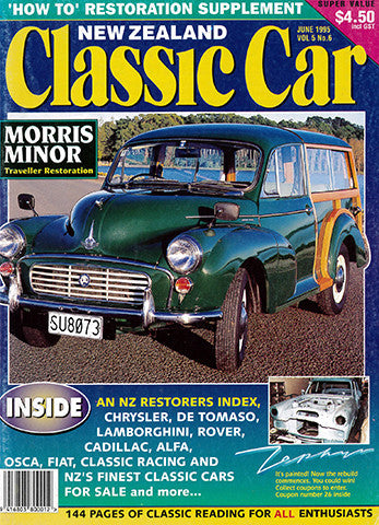 New Zealand Classic Car 54, June 1995