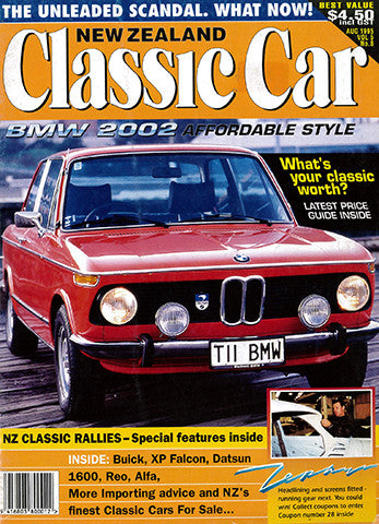 New Zealand Classic Car 56, August 1995