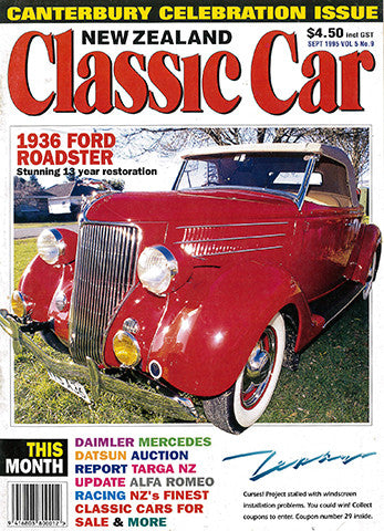 New Zealand Classic Car 57, September 1995