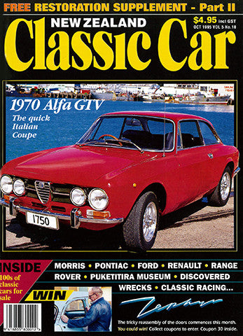 New Zealand Classic Car 58, October 1995