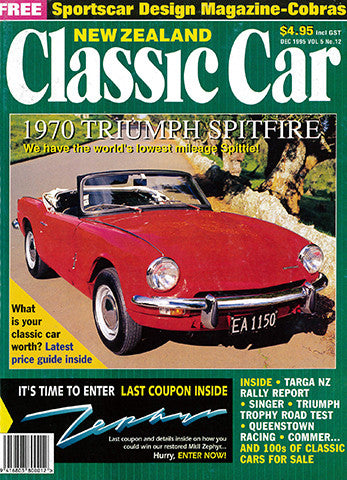 New Zealand Classic Car 60, December 1995