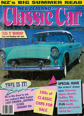 New Zealand Classic Car 61, January 1996