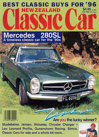New Zealand Classic Car 62, February 1996