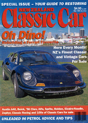 New Zealand Classic Car 65, May 1996