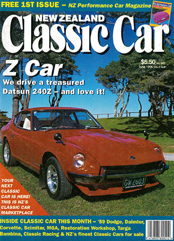 New Zealand Classic Car 66, June 1996