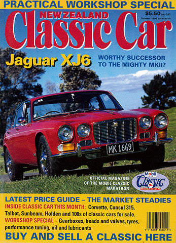 New Zealand Classic Car 70, October 1996
