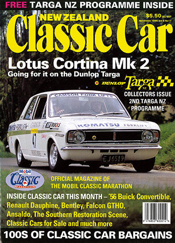 New Zealand Classic Car 71, November 1996