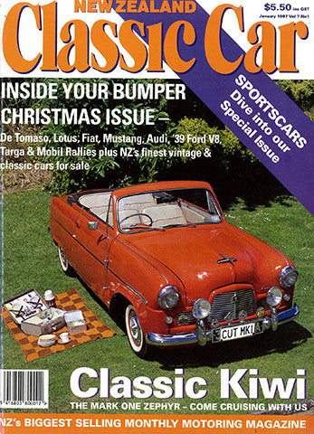 New Zealand Classic Car 73, January 1997